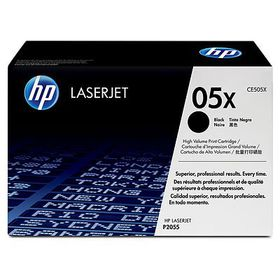 HP 05X LaserJet Black Print Cartridge - Dual Pack