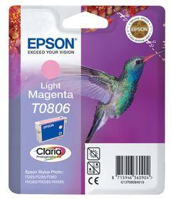 EPSON - Ink - T0806 - Light Magenta - HUMMINGBIRD - Stylus PX720WD / PX820FWD / P50 / PX660