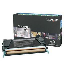 LEXMARK C734 / C736 / X734 / X736 / X738 Black Return Programme Toner Cartridge  - 8 000 pgs