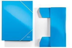 Leitz WOW 3 Flap Folder A4 - Blue