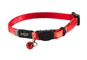 Rogz - Catz KiddyCat Small Safeloc Breakaway Cat Collar - Orange