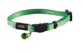 Rogz - Catz KiddyCat Small Safeloc Breakaway Cat Collar - Lime