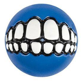 Rogz Grinz Small Dog Treat Ball - Blue