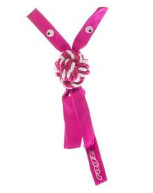 Rogz - Cowboyz Medium Dog Knot Chew Toy - Pink