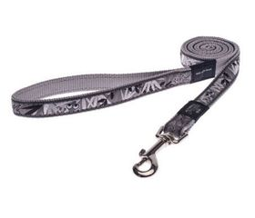 Rogz - Fancy Dress Extra-Large Armed Response Fixed Dog Lead - Silver