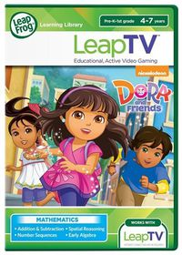 LeapTV Learning Game: Dora and Friends