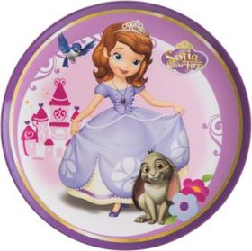 Sofia The First Coupe Plate - Melamine