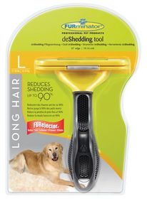 Furminator Long Hair Deshedding Tool For Large Dogs