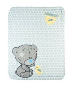 Tatty Teddy - Pram Blanket