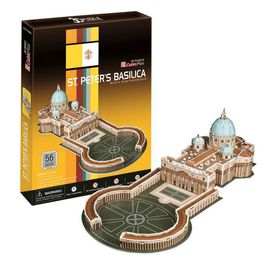 Cubic Fun St. Peters Basilica Vatican City - 56 Piece 3D Puzzle