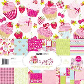 KaiserCraft Tea Party 12x12 Paper Pack