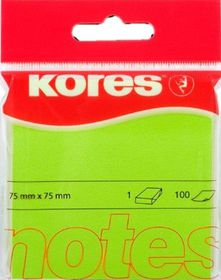 Kores Neon Notes - Green (100 Sheets)
