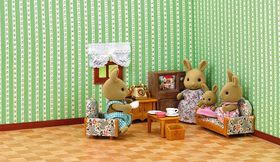 Sylvanian Family Country Living Room Set
