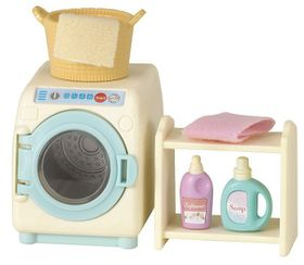 Sylvanian Family Washing Machine Set