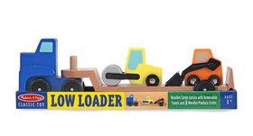 Melissa & Doug Wooden Low Loader