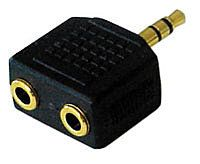 Lindy 2 Stereo Female - 3.5mm Male Jack Adapter