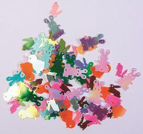 Dala Sequins Animals Assorted Colours - 5g Bag
