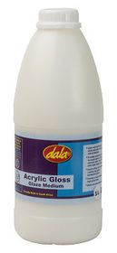 Dala Acrylic Gloss Glaze Medium - 1 Litre