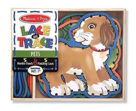 Melissa & Doug Pets Lace & Trace