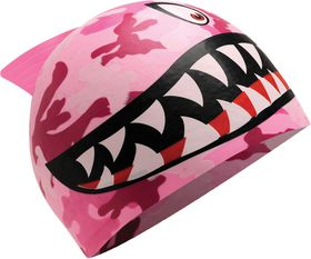 Junior TYR Shark Fin Silicone Swimming Cap