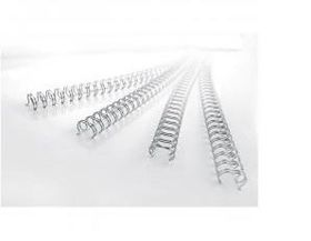 GBC 14mm 21 Loop Wire Elements - Silver (Pack of 100)