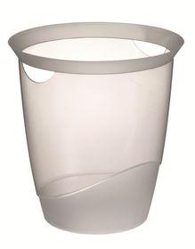 Durable Waste Basket - Transparent