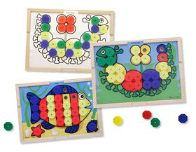 Melissa & Doug Sort and Snap Colour Match