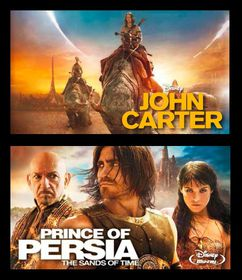 John Carter & The Prince Of Persia Box Set (Blu-ray)