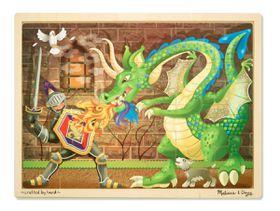 Melissa & Doug Dragon Wooden Jigsaw - 48 Piece