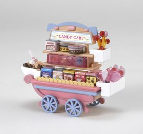 Sylvanian Family Candy Cart