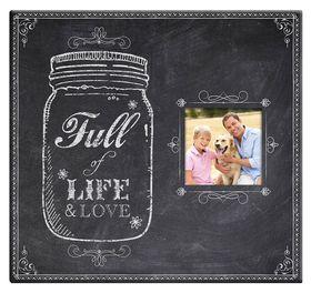 MCS 12x12 Postbound Album -  Full of Life Jar