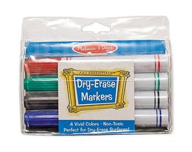 Melissa & Doug Dry-Erase Marker Set - 4 Piece