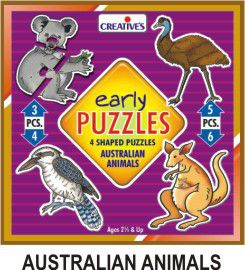 Creatives Toys Early Puzzle Australian Animal