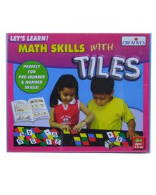 Creatives Toys Math Skills with Tiles