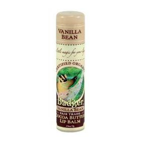Badger Cocoa Butter Vanilla Bean Lip Balm Stick