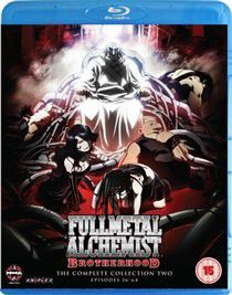 Full Metal Alchemist Brotherhood: Collection Two (Import Blu-ray)