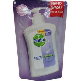 Dettol Hygiene Liquid Hand Wash Sensitive Refill - 200ml