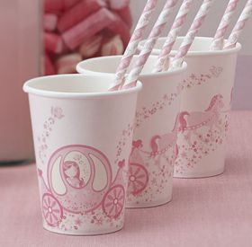 Ginger Ray - Paper Cups - 8 Pack - Straws Not Included