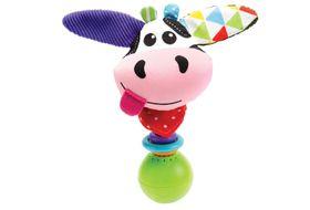 """Yookidoo - """"Shake Me"""" Rattle - Cow"""