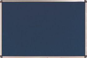 Nobo Elipse Felt Notice Board 600mm x 900mm - Blue