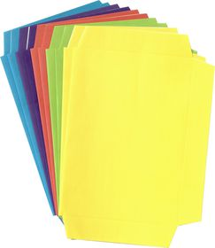 Butterfly Precut A5 Bright Book Covers 10's