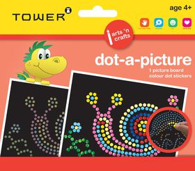 Tower Kids Dot-A-Picture - Snail