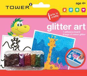 Tower Kids Glitter Art - Giraffe