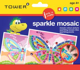 Tower Kids Sparkle Mosaic - Butterfly