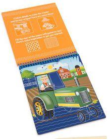 Melissa & Doug Vehicles Colour - Reveal Pad