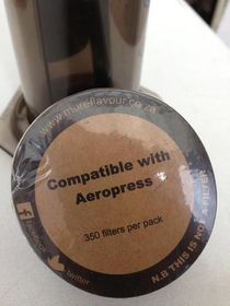 More Flavour Unbleached Paper Filter for AeroPress - Pack of 3