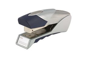 Rexel Gazelle Half Strip Premium Desktop Metal Stapler - Silver/Blue