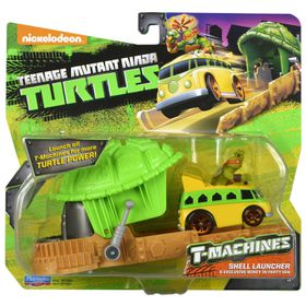 Teenage Mutant Ninja Turtles T-Machine Shell Launcher With Vehicle