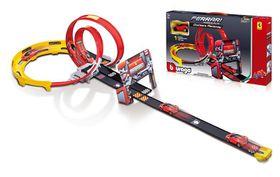 Bburago 1/43 Ferrari Race & Play Go Gears Playset with 1 Car