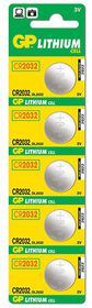 GP Batteries 3V CR2032 Lithium Coin Batteries